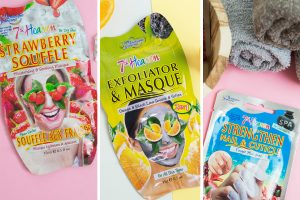 Strawberry Souffle, Exfoliator & Masque, Nail & Cuticle Masques