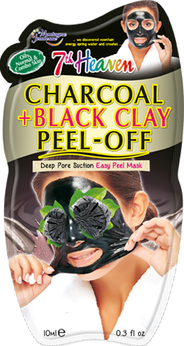 Charcoal & Black Clay Peel-Off