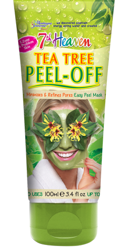 Tea tree peel off 7th heaven montagne jeunesse get in the t zone and target problem areas with this super soothing peel off mask tea tree witch hazel canadian willowherb come together to calm and solutioingenieria Images