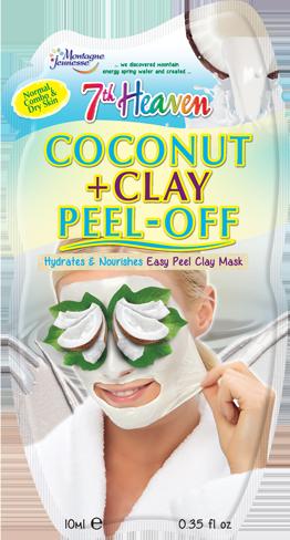 Coconut Clay Peel Off 7th Heaven Montagne Jeunesse