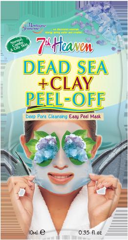 Dead Sea + Clay Peel-Off | 7th Heaven | Montagne Jeunesse